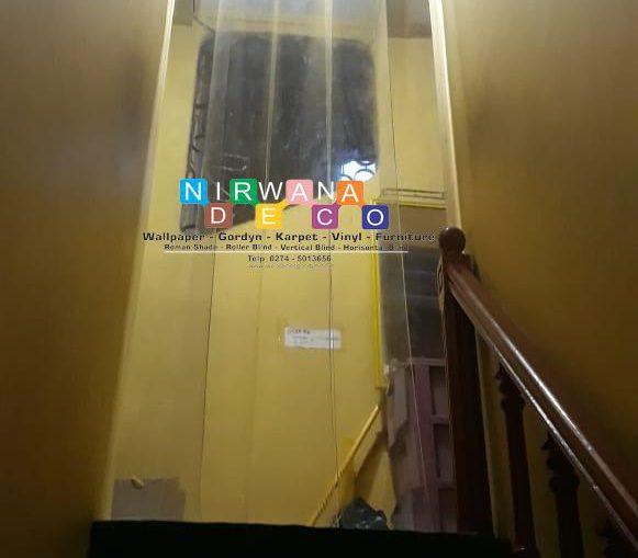 Pemasangan Tirai PVC Jl. Sidokabul Gang Setyaki, Umbulharjo, Yogyakarta