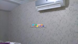 Pemasangan Wallpaper Di Kalipucang, Bangunjiwo, Bantul, Yogyakarta