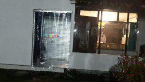 Pemasangan Tirai PVC Di Batang Gede, Tambak Rejo, Tempel, Sleman, Yogyakarta