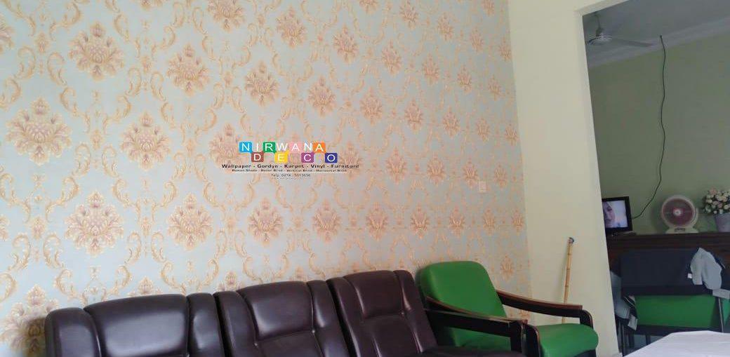 Pemasangan Wallpaper Di Perumahan SGPLB, Yogyakarta