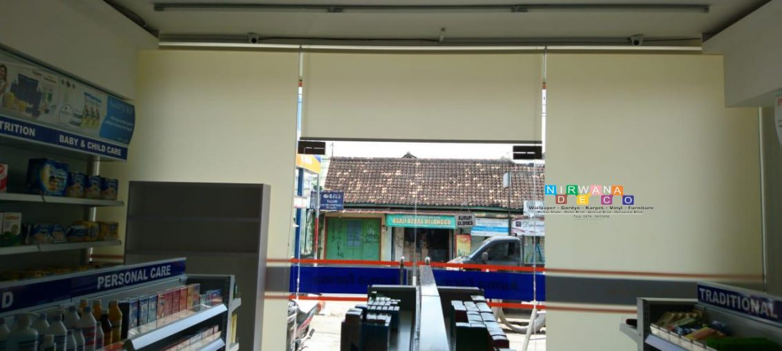 Pemasangan Roller Blind Di Jalan Bhayangkara, Ngupasan, Gondomanan, Yogyakarta