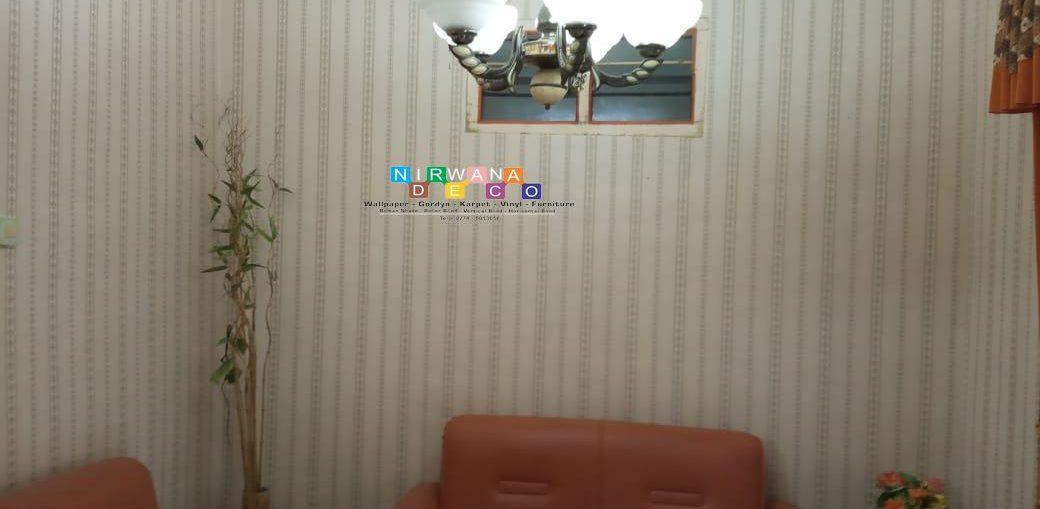 Pemasangan Wallpaper Di Jalan Semail, Sudimoro, Sewon, Bantul, Yogyakarta