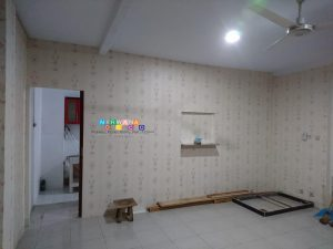 Pemasangan Wallpaper Di Jalan Taman Siswa, Wirogunan, Mergangsan, Yogyakarta