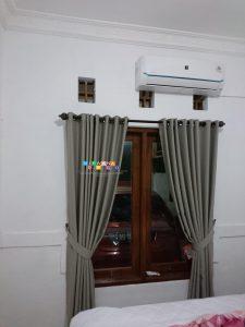 Pemasangan Gorden Di Perumahan Griya Taman Asri, Yogyakarta