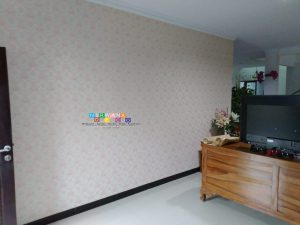 Pemasangan Wallpaper Di Ngangkrik, Triharjo, Sleman, Yogyakarta