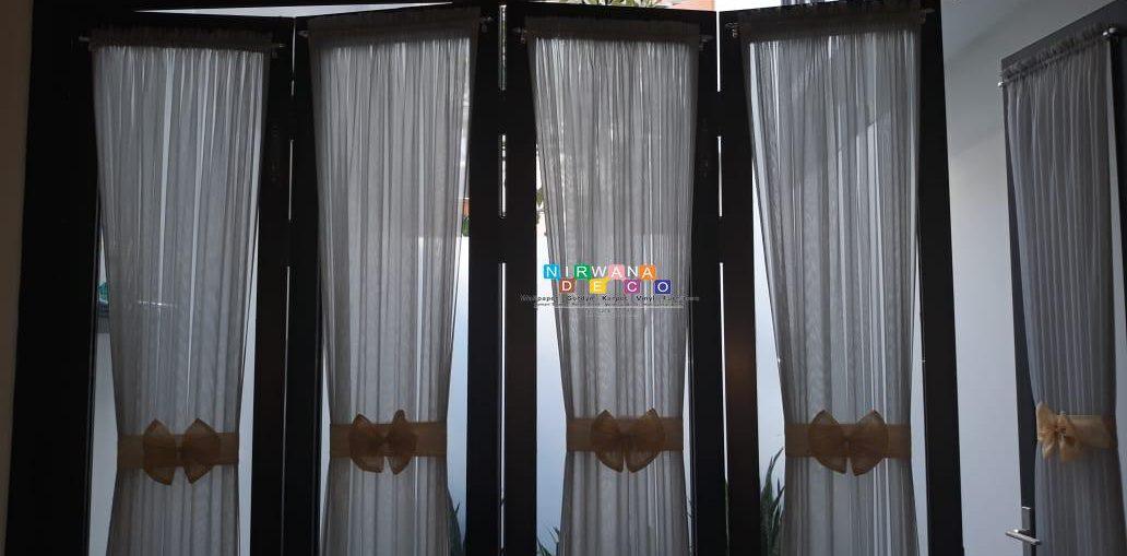 Pemasangan Gorden Di Ngentak, Timbulharjo, Sewon, Bantul, Yogyakarta