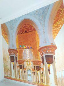 Pemasangan Wallpaper Di Pasekan Lor, Balecatur, Gamping, Sleman, Yogyakarta