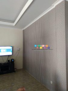 Pemasangan Wallpaper Di Ngoto, Bangunharjo, Sewon, Bantul, Yogyakarta