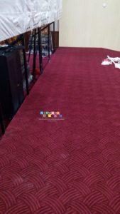Pemasangan Karpet Di Jalan Kenari, Muja Muju, Umbulharjo, Yogyakarta