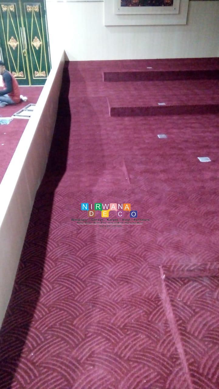 Pemasangan Karpet Di Jalan Kenari Muja Muju Umbulharjo