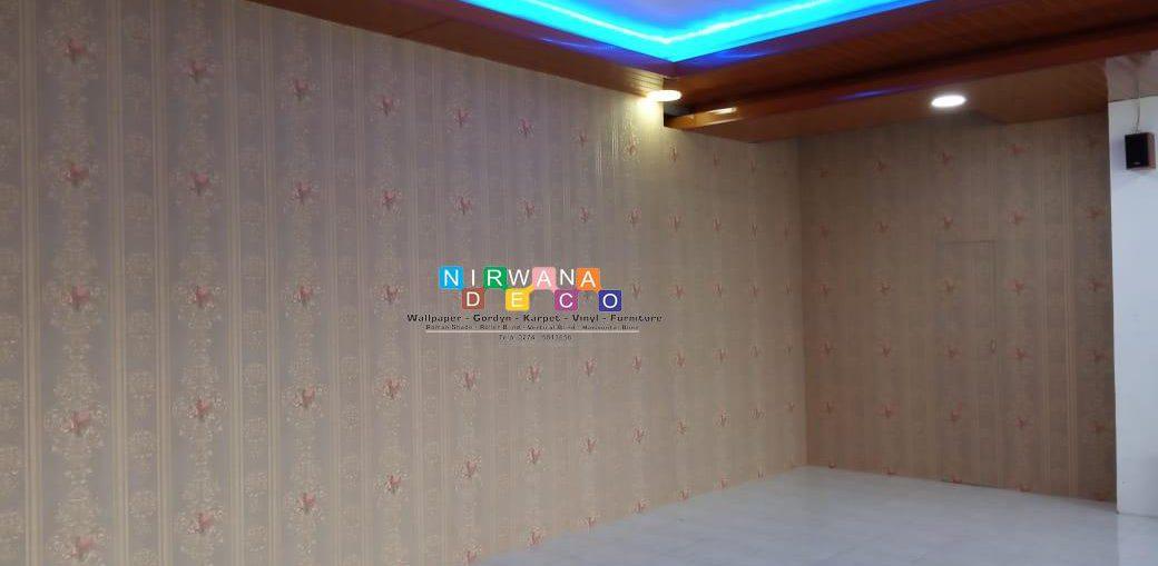 Pemasangan Wallpaper Di Jalan Kaliurang, Pogung Kidul, Caturtunggal, Depok, Sleman, Yogyakarta