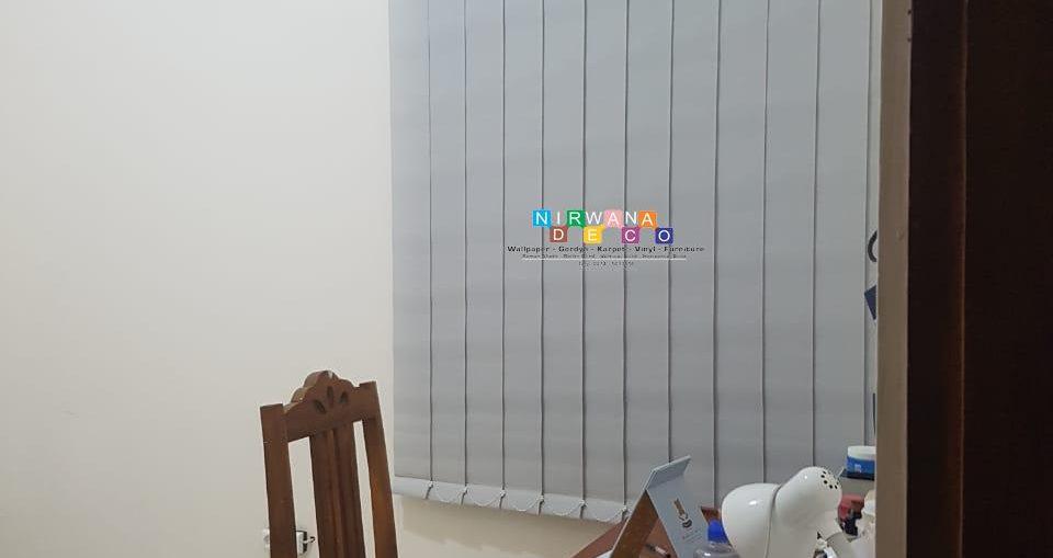 Pemasangan Vertikal Blind Di Pogung Baru, Sinduadi, Sleman, Yogyakarta