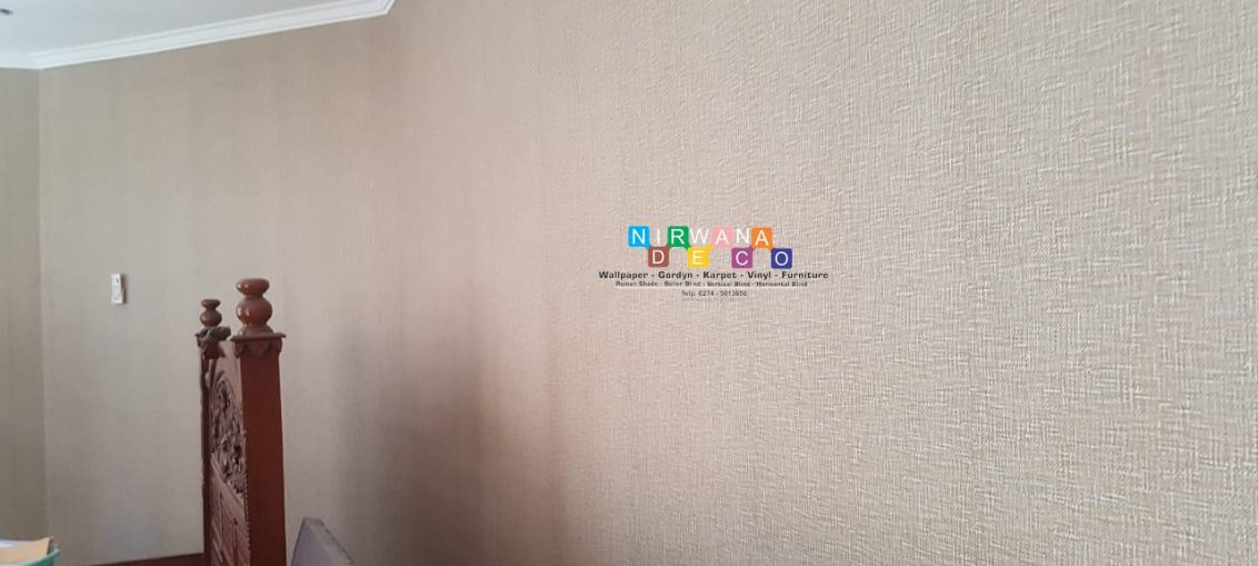 Pemasangan Wallpaper Di Jalan Ki Ageng Pemanahan, Sorosutan, Umbulharjo, Yogyakarta