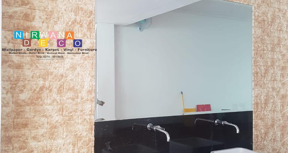 Pemasangan Wallfoam Di Jalan Magelang, Kutu Patran, Sinduadi, Mlati, Sleman, Yogyakarta