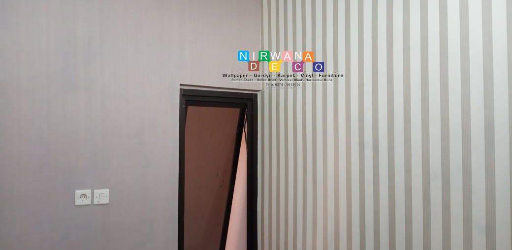 Pemasangan Wallpaper Di Pakembinangun, Pakem, Sleman, Yogyakarta