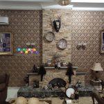 Pemasangan Wallpaper Di Casa Grande, Yogyakarta