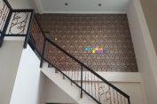 Pemasangan Wallpaper Di Jalan Soka, Kadisoko, Purwomartani, Kalasan, Sleman