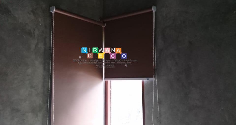 Pemasangan Roller Blind Di Jalan Baron, Wunung, Wonosari, Gunung Kidul
