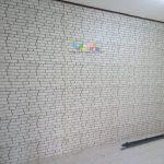 Pemasangan Wallpaper Di Jalan Raya Tajem, Maguwoharjo, Sleman, Yogyakarta