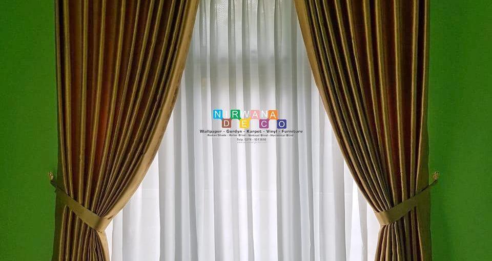 Pemasangan Gorden Di Kutu Tegal, Sinduadi, Mlati, Sleman, Yogyakarta