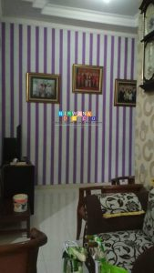 Pemasangan Wallpaper Di Sambiroto, Purwomartani, Kalasan, Sleman, Yogyakarta
