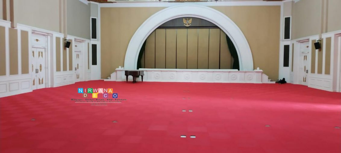 Pemasangan Karpet Di Jalan Ahmad Yani, Ngupasan, Gondomanan, Yogyakarta