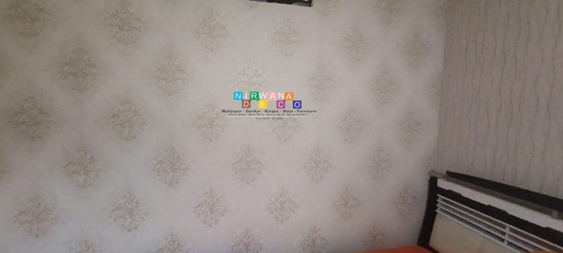 Pemasangan Wallpaper Di Modinan, Banyuraden, Gamping, Sleman, Yogyakarta