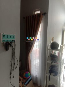 Pemasangan Gorden Di Perumahan Golden Field Residence, Klaten, Jawa Tengah