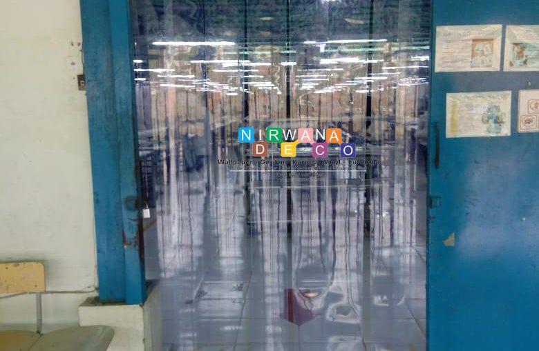 Pemasangan Tirai PVC Di Jatinom, Gedong, Ngadirojo, Wonogiri, Jawa Tengah