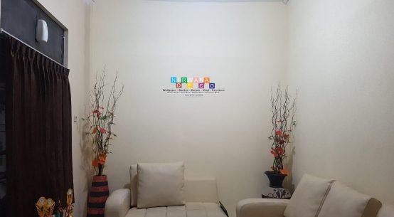 Pemasangan Wallpaper Di Jalan Faridan M Noto, Kotabaru, Gondokusuman, Yogyakarta