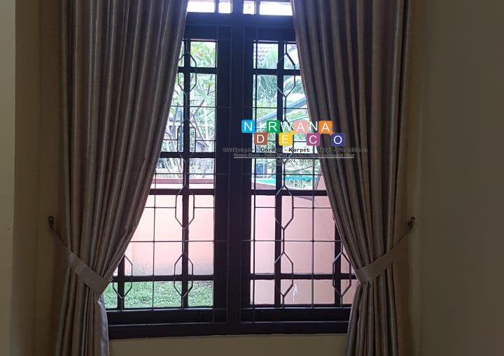 Pemasangan Gorden Di Perumahan Griya Avita, Yogyakarta