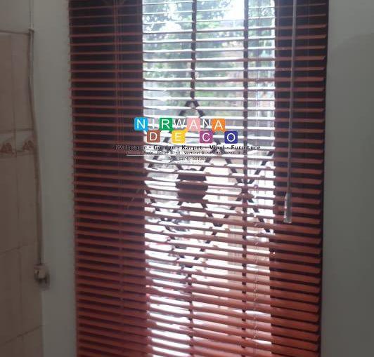 Pemasangan Horizontal Blind Di Tanjung, Bangunharjo, Sewon, Bantul, Yogyakarta