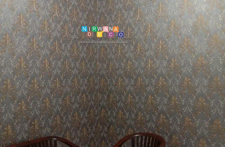 Pemasangan Wallpaper Di Jalan Perum Gambiran, Pandeyan, Umbulharjo, Yogyakarta
