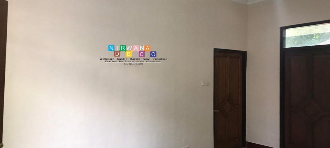 Pemasangan Wallpaper Di Jalan Ipda Tut Harsono, Muja Muju, Umbulharjo, Yogyakarta