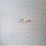 Pemasangan Wallpaper Di Jalan Kalimantan, Purwosari, Sinduadi, Mlati, Sleman, Yogyakarta