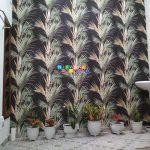 Pemasangan Wallpaper Di Jalan Pendowoharjo, Mancasan, Pandowoharjo, Sleman, Yogyakarta