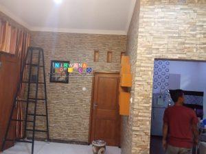 Pemasangan Wallpaper Di Degan, Timbulharjo, Sewon, Bantul, Yogyakarta