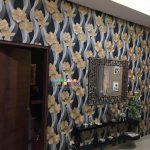Pemasangan Wallpaper Di Laguna Spring, Yogyakarta
