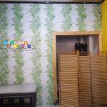 Pemasangan Wallpaper Di Jalan Mayjend Sutoyo, Mantrijeron, Yogyakarta