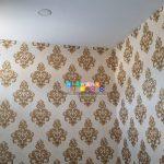 Pemasangan Wallpaper Di Perumahan Kasongan Residence, Bangunjiwo, Kasihan, Bantul, Yogyakarta