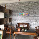 Pemasangan Wallpaper di  Jalan Brawijaya, Geblagan, Tamantirto, Kasihan, Yogyakarta