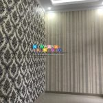 Pemasangan Wallpaper Di Jalan Permadi 1, Tlogo Lot, Prambanan, Klaten, Jawa Tengah
