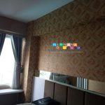 Pemasangan Wallpaper Di Apartemen Vivo, Yogyakarta