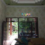 Pemasangan Wallpaper Di Panjatan, Kulonprogo, Yogyakarta