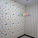 Pemasangan Wallpaper Di Jatisawit, Balecatur, Gamping, Sleman,Yogyakarta