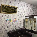 Pemasangan Wallpaper Di Ngetiran, Sariharjo, Ngaglik, Sleman, Yogyakarta