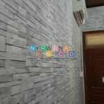 Pemasangan Wallpaper Di Jalan Wahid Hasyim, Condong Catur, Depok, Sleman, Yogyakarta