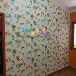 Pemasangan Wallpaper Di Glondong, Panggungharjo, Sewon, Bantul, Yogyakarta