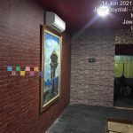 Pemasangan Wallpaper Di Rejosari, Mungkid, Magelang, Jawa Tengah