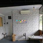 Pemasangan Wallpaper di Cokrowijayan, Banyuraden, Gamping, Sleman, Yogyakarta